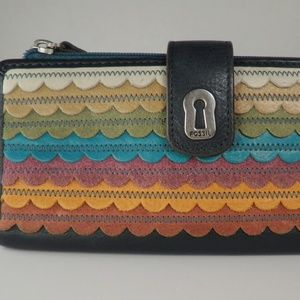 Fossil Leather Multi Wallet